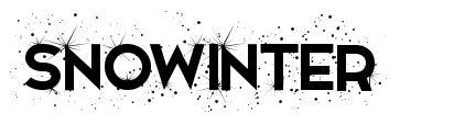 Snowinter 字形