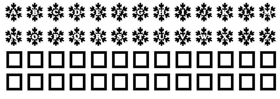 Snowy Caps fuente
