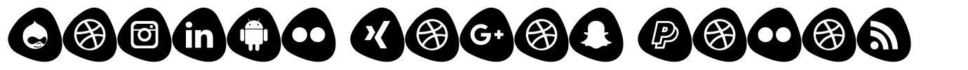 Social Logos Color