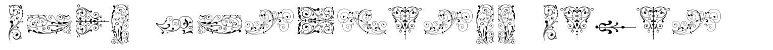Soft Ornaments Seven font