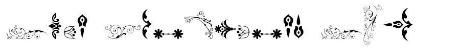Soft Ornaments Six font