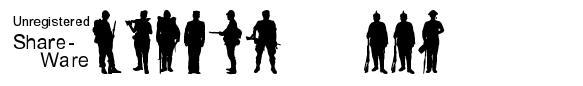 Soldier WW2 字形