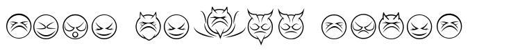 Some Devil Faces font