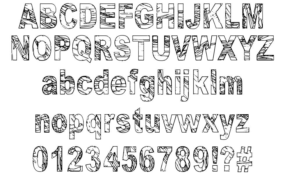 Some Distant Memory font
