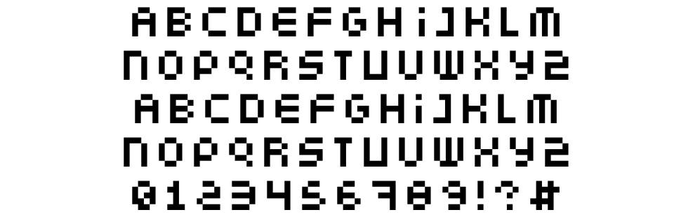 Somepx font