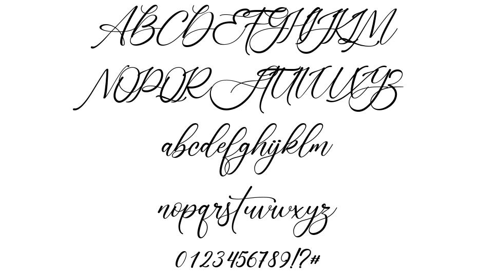 Sonetha font