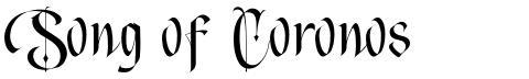 Song of Coronos