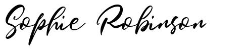Sophie Robinson font
