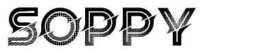 Soppy font