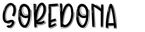 Soredona font