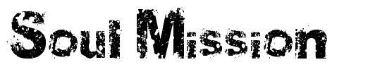 Soul Mission 字形
