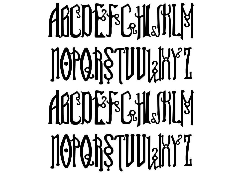 Soul Reaver font