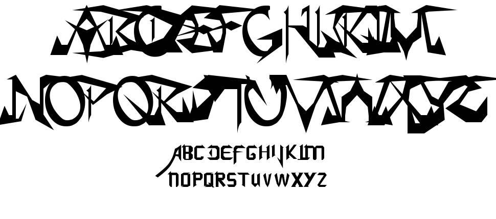 SoulCalibuR font