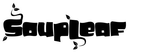 SoupLeaf font
