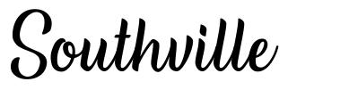 Southville шрифт
