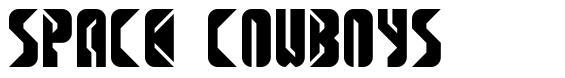 Space Cowboys  font