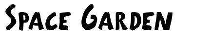 Space Garden font