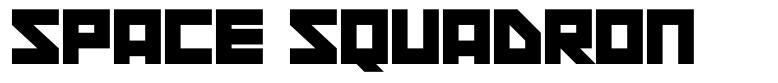 Space Squadron 字形