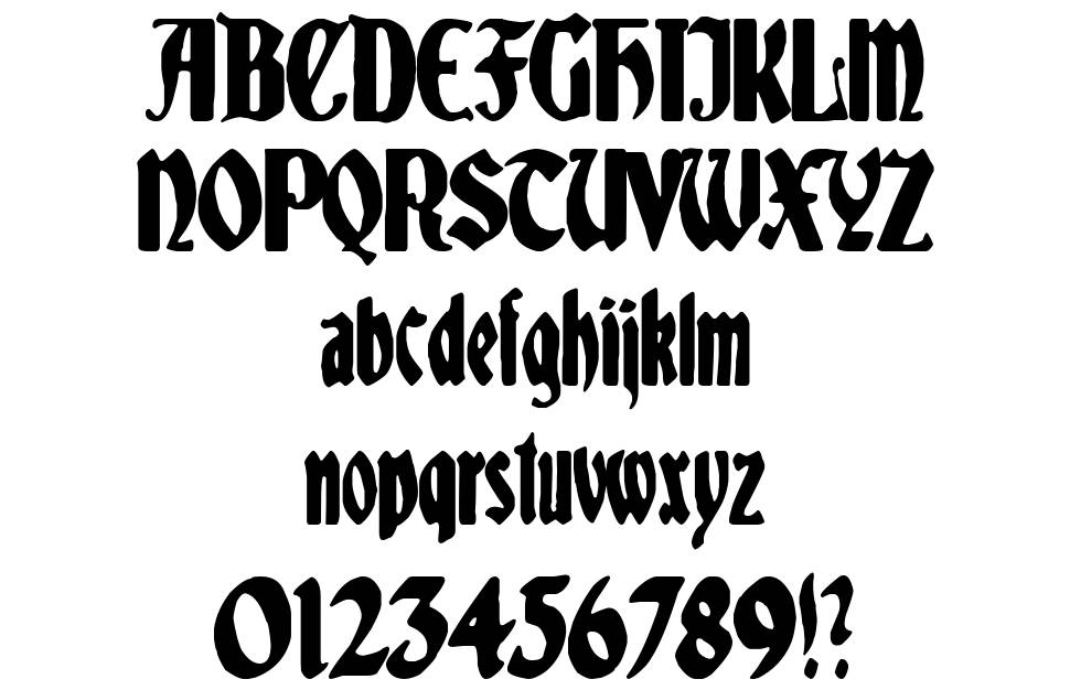 Spaniard Soldier font