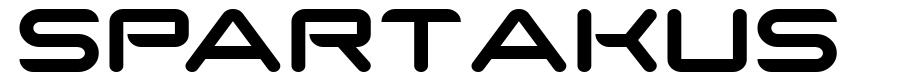 SparTakus font