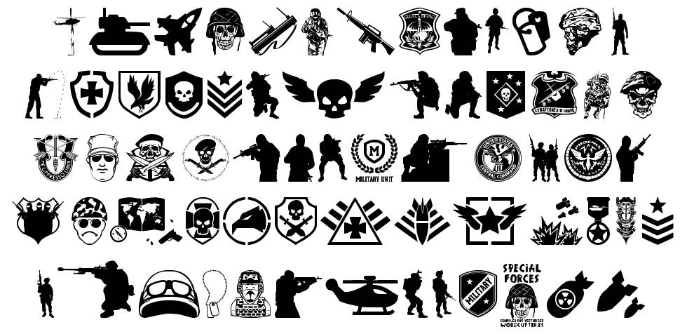 Special Forces font