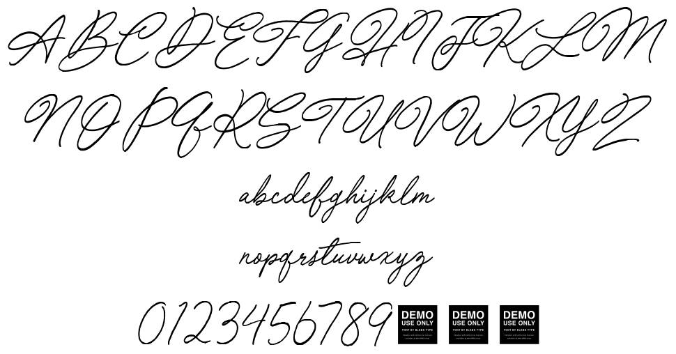 Special Touch font
