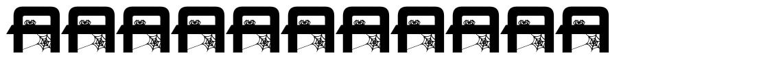 Spider Font font