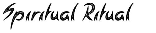 Spiritual Ritual font