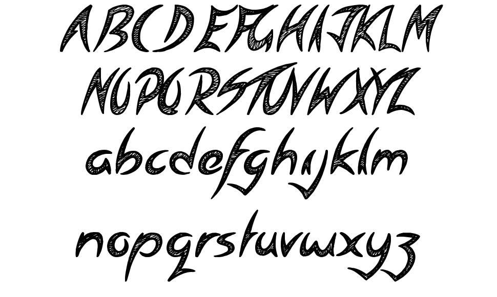 Spiritual Ritual шрифт