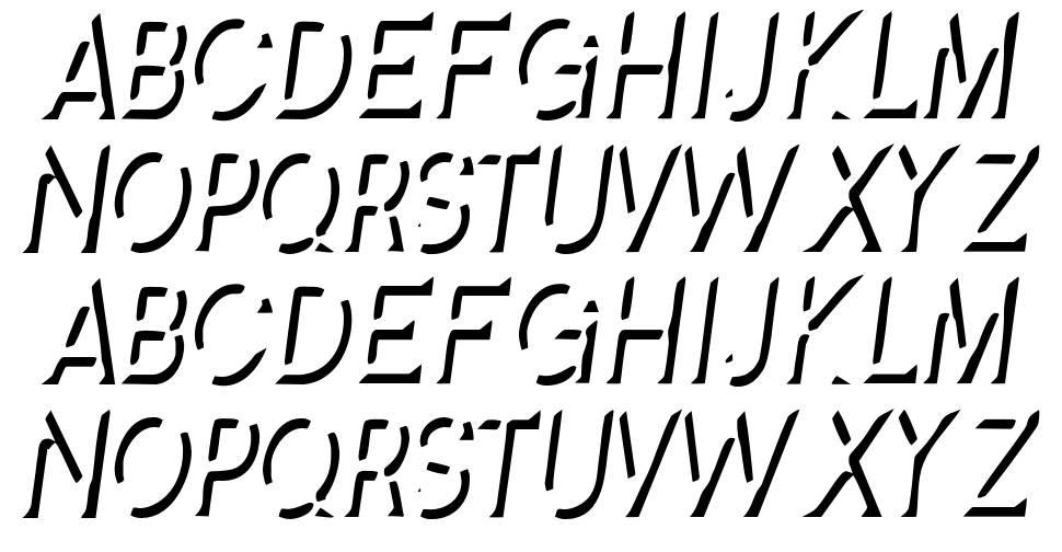 Splendid Stencil font