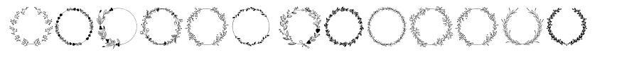 Spring Romance font