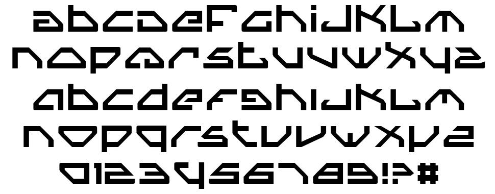 Spy Lord font