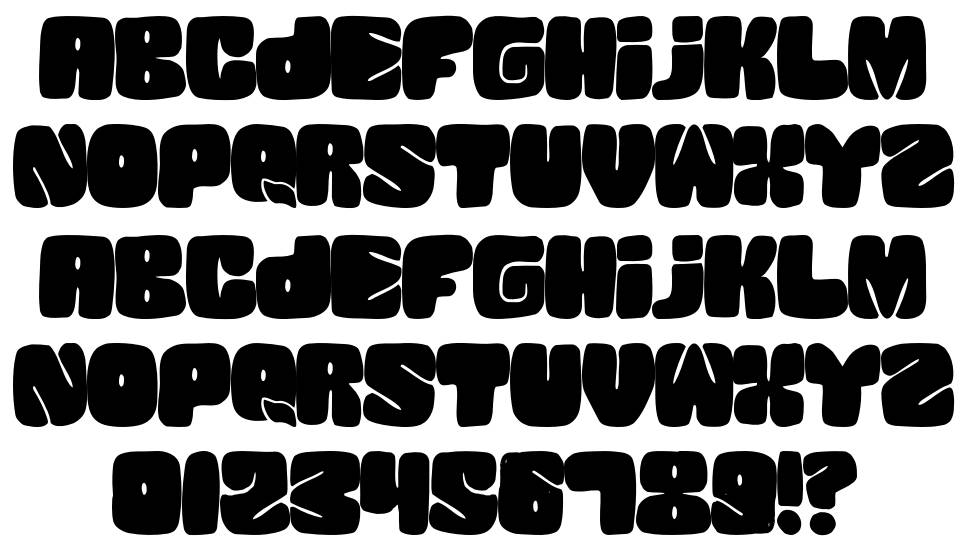 Squanded schriftart