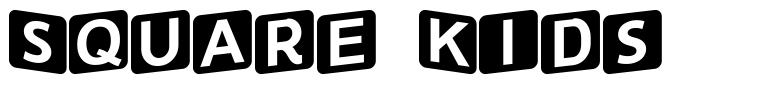 Square Kids font