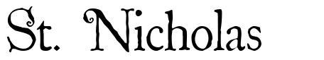St. Nicholas 字形