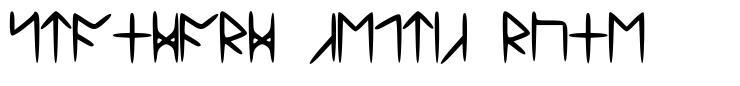 Standard Celtic Rune