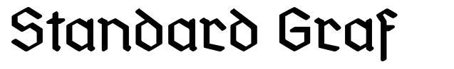 Standard Graf フォント