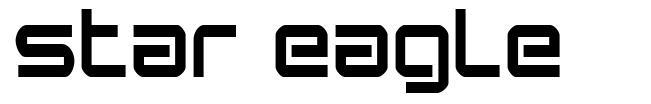 Star Eagle font