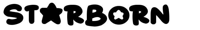 Starborn font