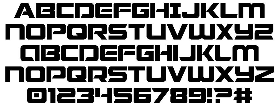 Starduster font