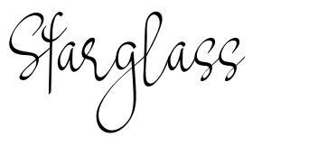 Starglass フォント