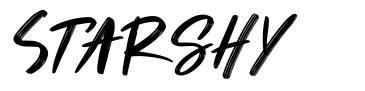 Starshy font