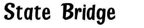 State Bridge フォント