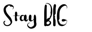 Stay BIG