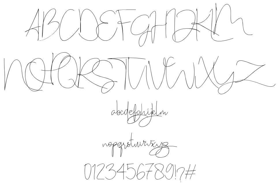 Stealletto font
