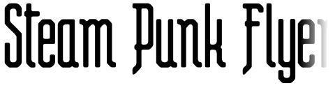 Steam Punk Flyer