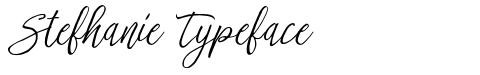 Stefhanie Typeface