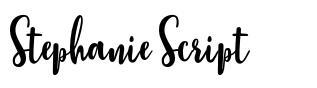 Stephanie Script fonte