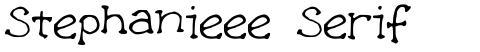 Stephanieee Serif