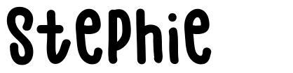 Stephie font
